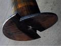 先端翼付き回転貫入鋼管杭  つばさ杭工法