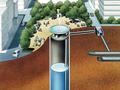 縦型雨水貯留(SOCS利用)システム