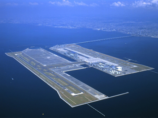 関西国際空港2期空港島埋立工事