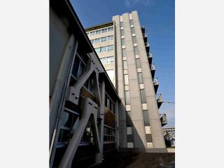 鳥取大学付属病院第二中央診療棟、看護師宿舎(改修)