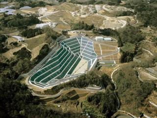 一般廃棄物最終処分場造成遮水設備工事