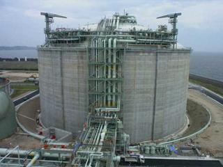 8号LNGタンク設置(土木)工事