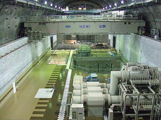 神流川発電所建設に伴う土木関係主要工事(I期分)発電所工区