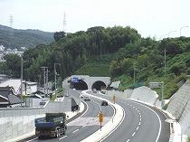 名塩道路 八幡トンネル工事