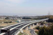 京都第二外環状道路 灰方高架橋工事