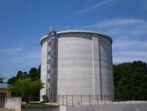北総中央農業水利事業 1号調整水槽工事