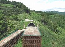 中部横断自動車道 前沢トンネル工事