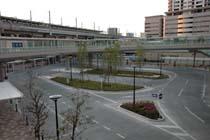 武蔵浦和駅道路工事