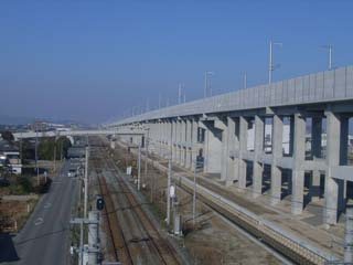 九州新幹線 富合北BL