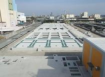 東部浄化センター分流水処理施設工事