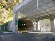 北海道横断自動車道 穂別トンネル西工事